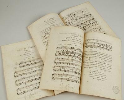 Paris: Janet et Cotelle; Garaudé; Journal d'Euterpe, 1820. Octavo. Disbound. 3 scores, each a singl...