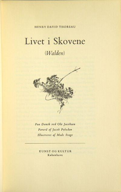 Kobenhavn: Kunst Og Kultur, 1950. 8vo, pp. 401, ; illustrations in the text throughout; fine in cont...