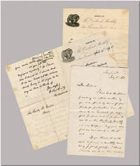 "[Three Autograph Letters, Signed (One Solely As ""The Editor""), to Emily B. Gould, with Annotated Accounting]"