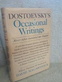 image of Dostoevsky's Occasional Writings