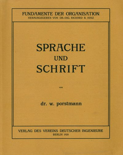 Sprache und Schrift [Language and...