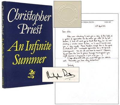 London: Faber and Faber. (1979). Signed by Priest, and with an autograph letter signed by Priest to ...