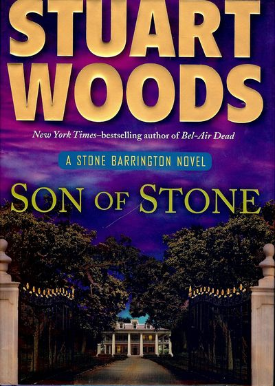 2011. WOODS, Stuart. SONS OF STONE. NY: G.P. Putnam's Sons, . 8vo., boards in dust jacket; 306 pages...