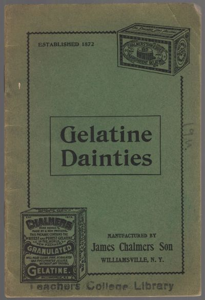 Williamsville, N.Y.: James Chalmers Son, 1913. Softcover. Very Good. 16mo. 32pp. Stapled illustrated...
