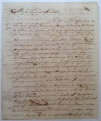 Autographed Manuscript Signed