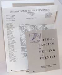 [Three items related to efforts to save anti-fascist refugees]