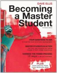 image of Becoming a Master Student [With Access Code]