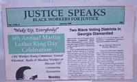 image of Justice Speaks: Vol. 13 No. 5, January 1996