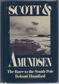 image of Scott and Amundsen. (The Race to the South Pole).