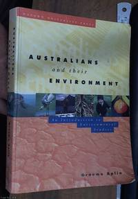image of Australians and Their Environment: An Introduction to Environmental Studies