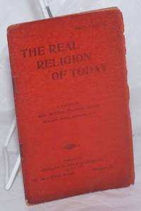 image of The real religion of today, a sermon