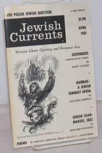 image of Jewish Currents; vol 35, no. 4 (384), April, 1981
