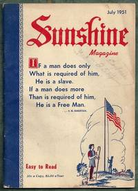 Sunshine Magazine July 1951 by Editors - Paperback - from Gail's Books and Biblio.com