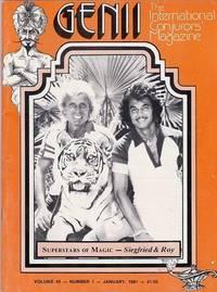 image of Genii: The International Conjurors Magazine: JANUARY 1981