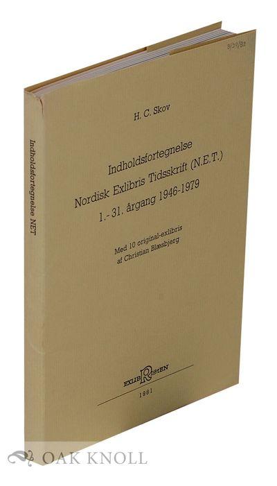 (Frederikshavn, Denmark): Exlibristen, 1981. stiff paper wrappers. 8vo. stiff paper wrappers. 153+(1...
