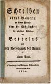 View Image 2 of 2 for Schreiben eines Bayern an Seinem Freund uber die Moglichkeit der.. Inventory #71348
