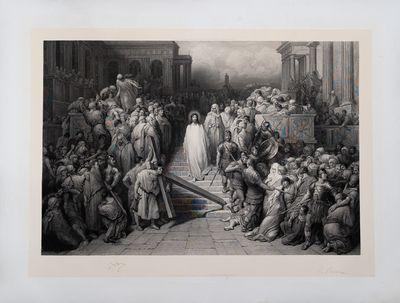 Christ leaving the Praetorium.
