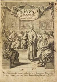 M. Tullii Ciceronis. Opera omnia: cum grvteri & selectis variorum notis indicibus locupletissimus, accurante C. Schrevelio