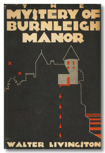 New York: Mystery League, 1930. Black cloth, lettered in green. First US edition. Endsheets and edge...