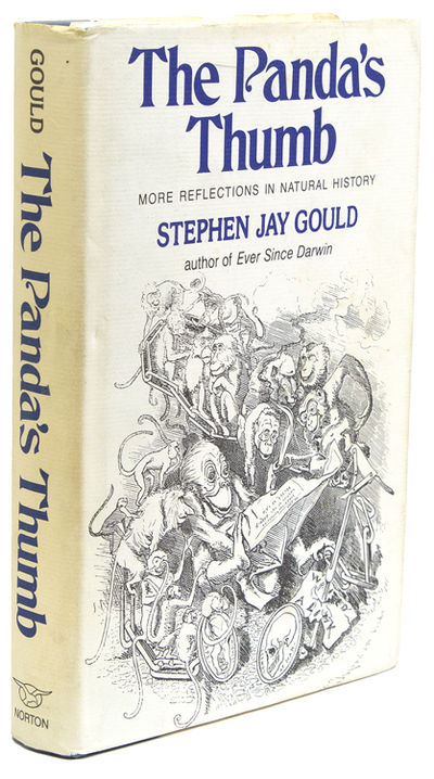 an analysis of jay goulds book the pandas thumb We took all of the books written by stephen jay gould and looked at his  in an  essay on individuality, for instance, gould looks through the lens of  the  panda's thumb will introduce a new generation of readers to this.