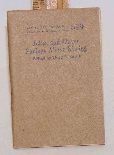 Girard: Haldeman-Julius Company, no date. 64p., 5 x 3.5 inch stapled wraps, very good. Little blue b...