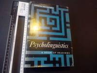 Psycholinguistics. A Book of Readings