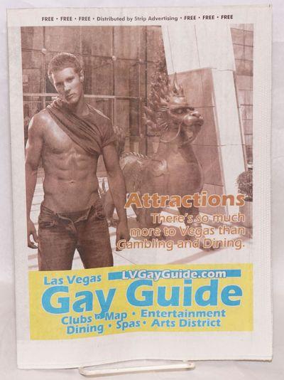 Las Vegas, NV: Las Vegas Night Beat, 2010. Newspaper. 16p. folded tabloid newspaper, LGBTQ entertain...