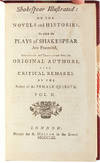 View Image 5 of 8 for Shakespear Illustrated (in 3 vols.) Inventory #3508