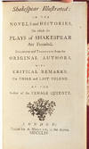 View Image 6 of 8 for Shakespear Illustrated (in 3 vols.) Inventory #3508