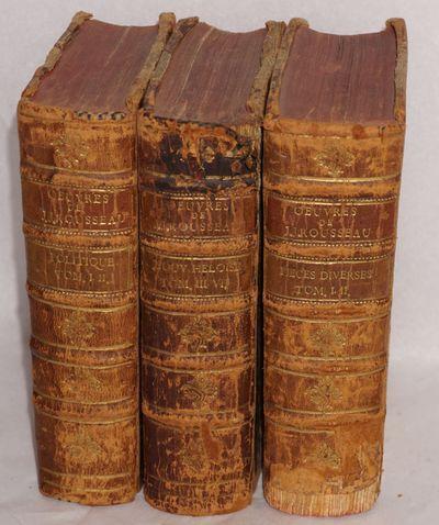 Aux Deux-Ponts: Chez Sanson et Compagnie, 1782. Respectively 306, 255, 406p., hardbound in matching ...