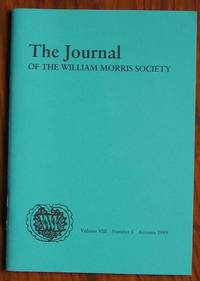 The Journal of the William Morris Society Volume VIII Number 3 Autumn 1989
