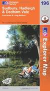 image of Sudbury, Hadleigh and Dedham Vale (Explorer Maps) (OS Explorer Map Active)