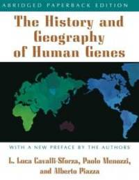 The History and Geography of Human Genes by Luigi Luca Cavalli-Sforza - Paperback - 1996-05-03 - from Books Express and Biblio.com