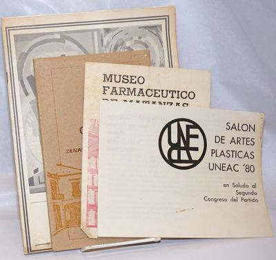 La Habana / Matanzas: variously published, 1970. The art-related items include salutes to the Revolu...