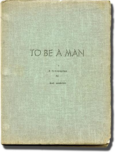 Hollywood: Petramonte Productions, 1963. Draft script for the 1963 film. Actor Van Heflin's copy, wi...