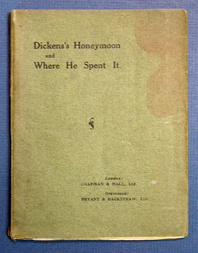 London: Chapman & Hall, 1912. 1st ed (Gimbel H369). Green printed wrappers. VG (some soiling to wrap...