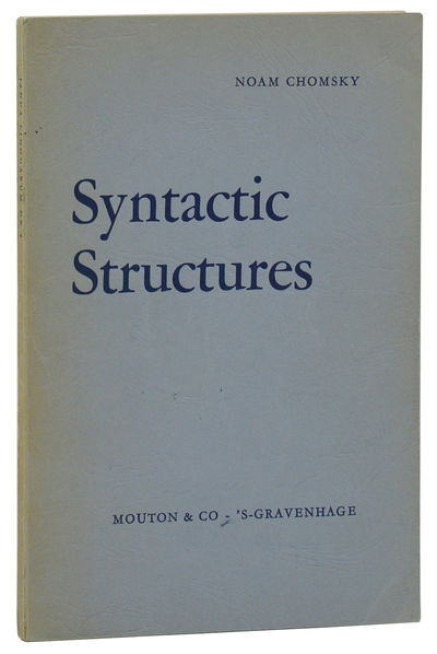 The Hague: Mouton & Co. Publishers, 1957. First Edition. Very Good. First edition, first printing. O...