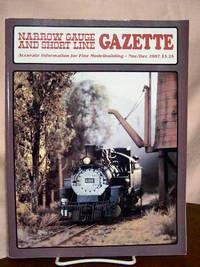 image of NARROW GAUGE AND SHORT LINE GAZETTE - NOVEMBER/DECEMBER, 1987; VOLUME 13, NUMBER 5.