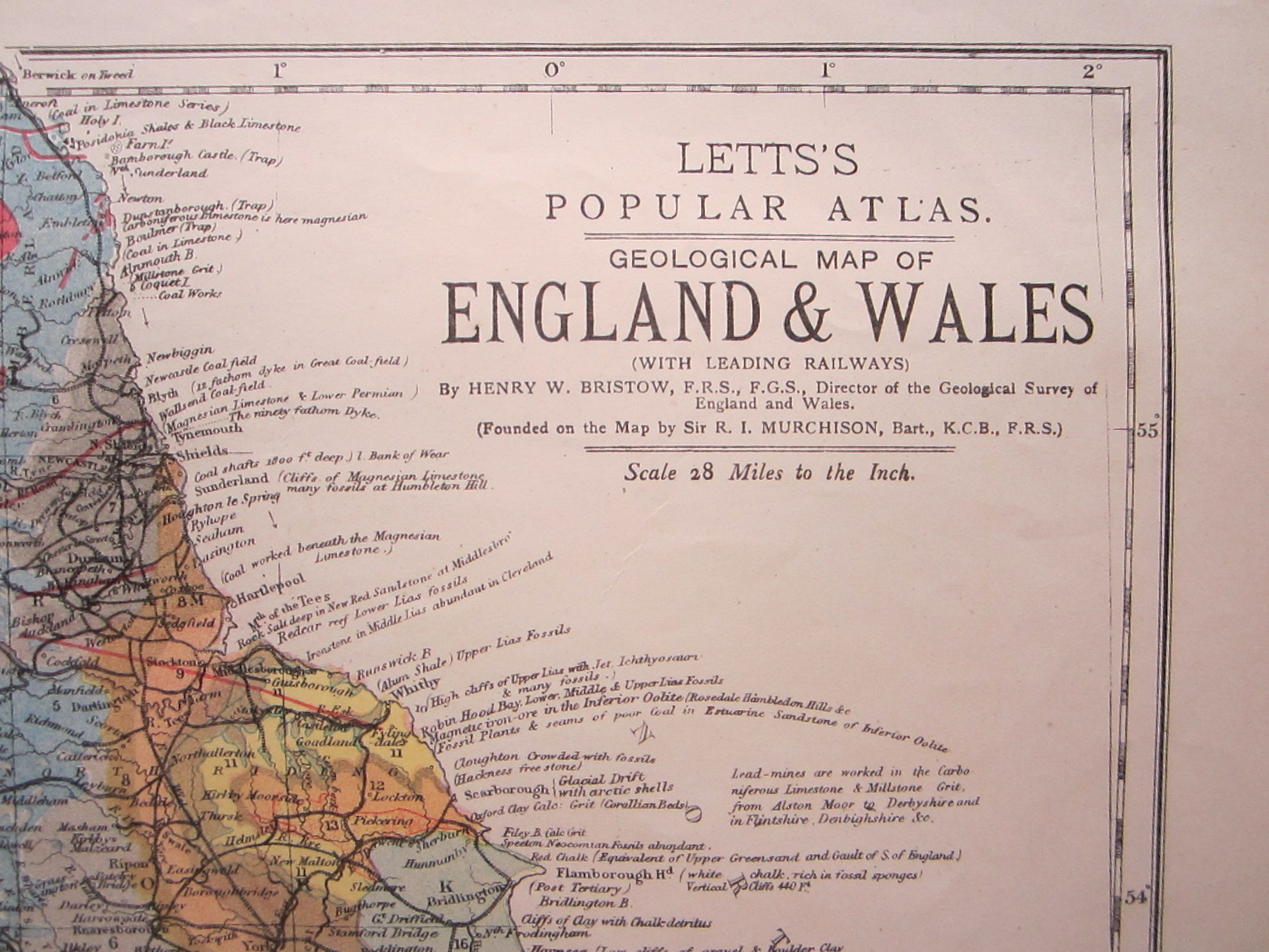 Geological Map of England & Wales (photo 2)