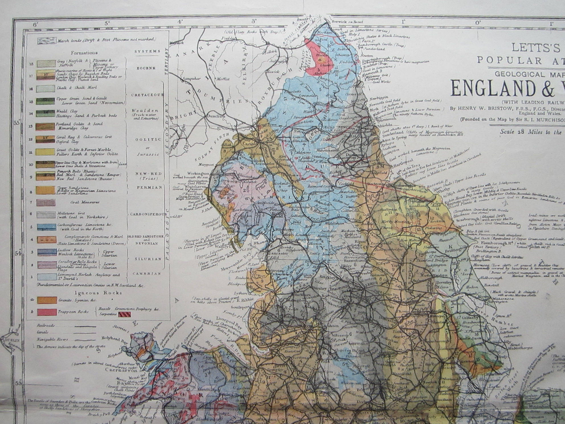Geological Map of England & Wales (photo 3)