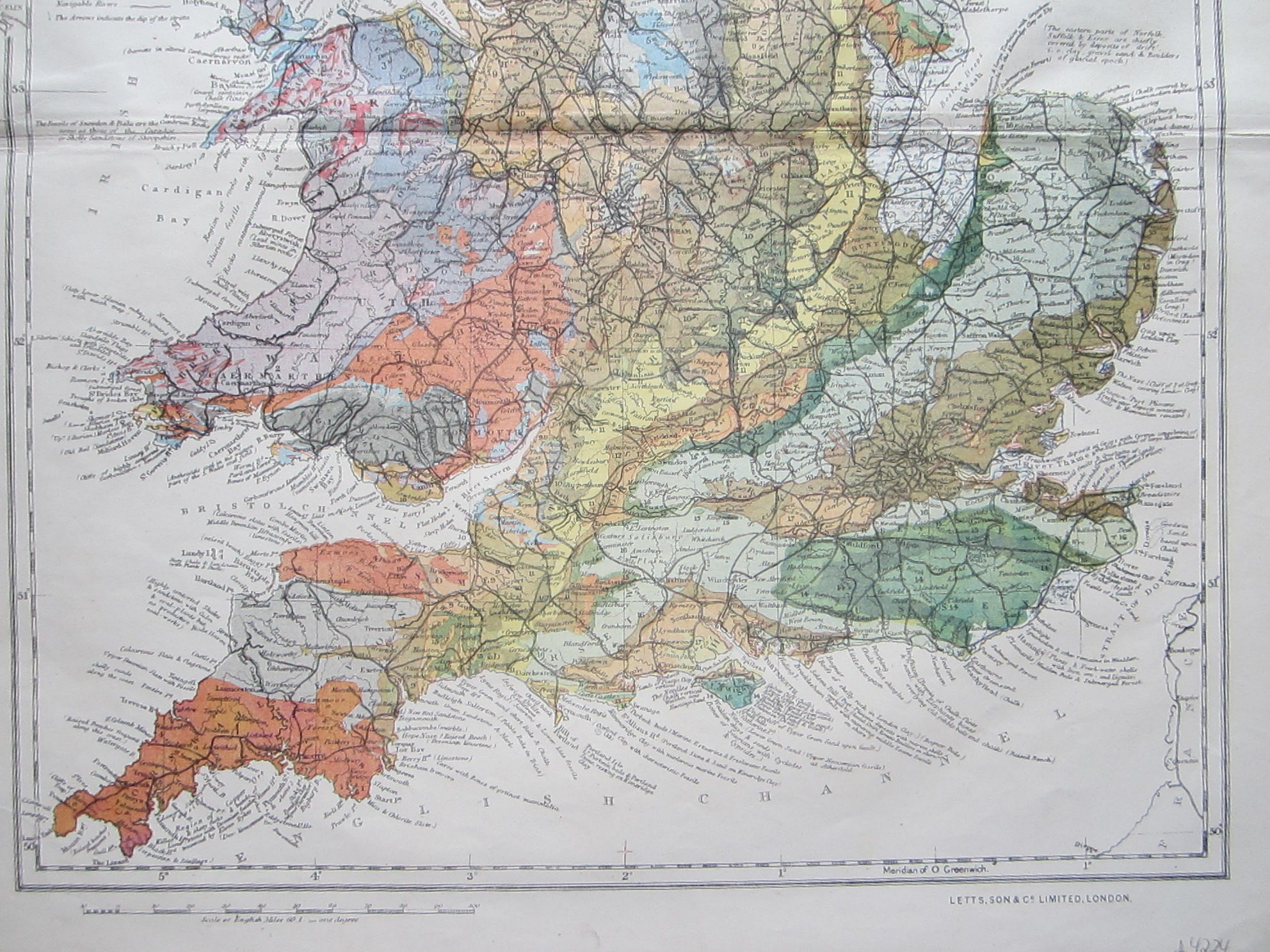 Geological Map of England & Wales (photo 4)