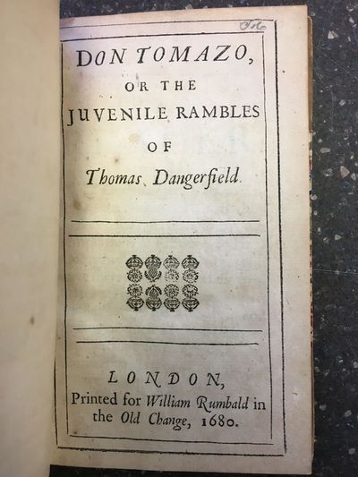 London: printed for William Rumbald in the Old Change, 1680. First Edition. Hardcover. Octavo, , 224...