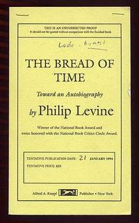 image of The Bread of Time: Toward an Autobiography