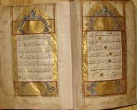 Ottoman Qur'an signed by an Ottoman calligrapher in Cairo and endowed by an Egyptian Bey (Emir) to a mosque in sukhumi, Abkhazia by Ottoman Qur'anic calligraphy