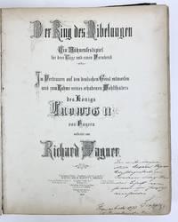 Götterdämmerung...Vollständiger Klavierauszug - FIRST EDITION, INSCRIBED BY DAVID POPPER AT THE 3RD VIENNA WAGNER CONCERT OF 1875