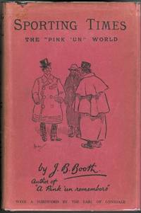 """image of SPORTING TIMES: THE """"PINK 'UN"""" WORLD."""