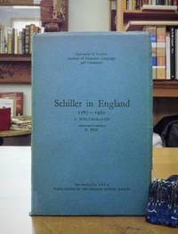 Schiller in England, 1787-1960. A Bibliography