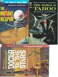 """MED SERVICE"" SERIES: The Mutant Weapon / This World is Taboo / Doctor to the Stars /..."