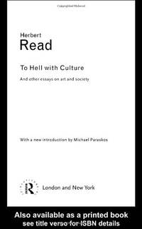 image of To Hell With Culture (Routledge Classics)