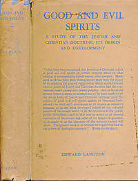 Good and Evil Spirits. A Study of the Jewish and Christian Doctine, its Origin and Development